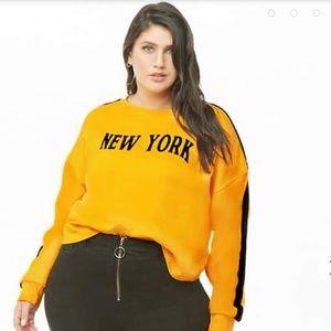 Forever 21 Plus Size New York Sweatshirt